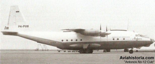 Antonov-An-12-Pehubungan-Udara