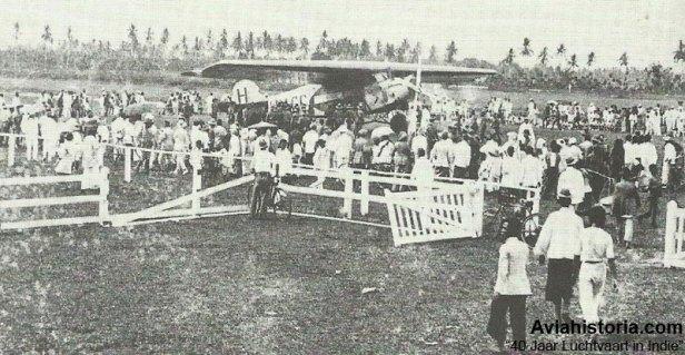 Tjililitan-KLM-Amsterdam-Batavia
