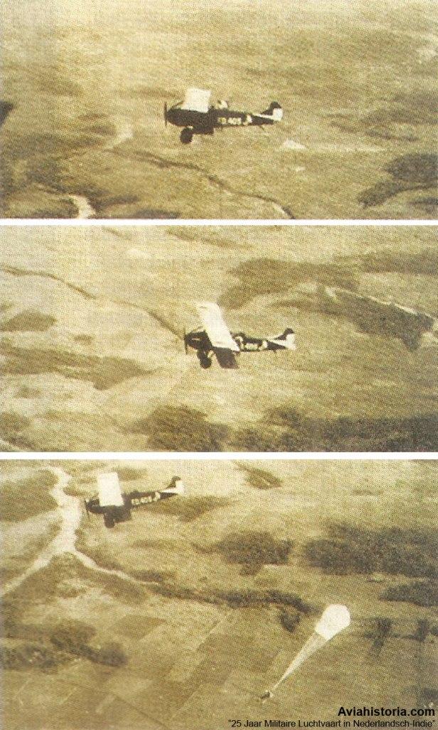 Payung-Udara-Hindia-Belanda-Fokker-C.IV