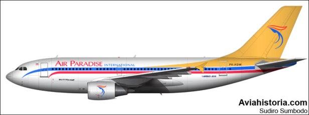 Airbus A310 PK-KDW Air Paradise International