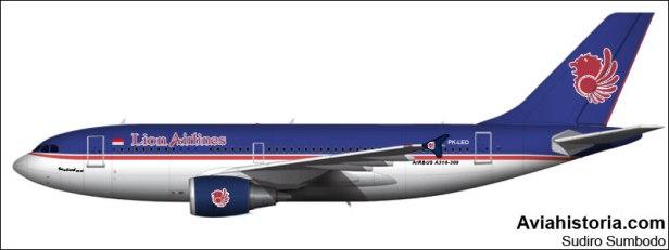 Airbus A310 PK-LEO Lion Air