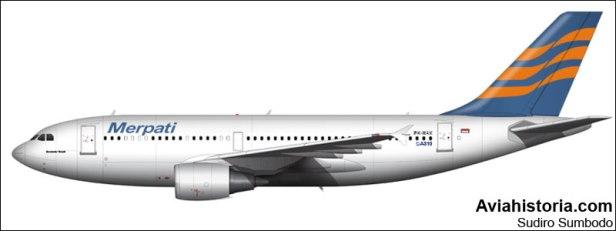 A310 MNA PK-MAX