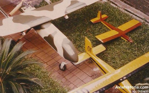 Tiga tipe drone TNI-AD : AOV, Falcon, dan Aerial Target.