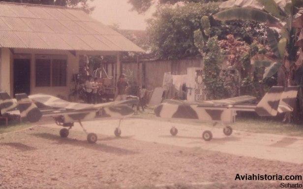 Dua drone AOV pesanan TNI-AD di Ampera.