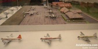 Kemajoran Tempo Doeloe, dengan dominasi pesawat baling-baling.