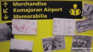 Peta rute GIA dari Kemayoran dan foto-foto dokumentar lainnya.