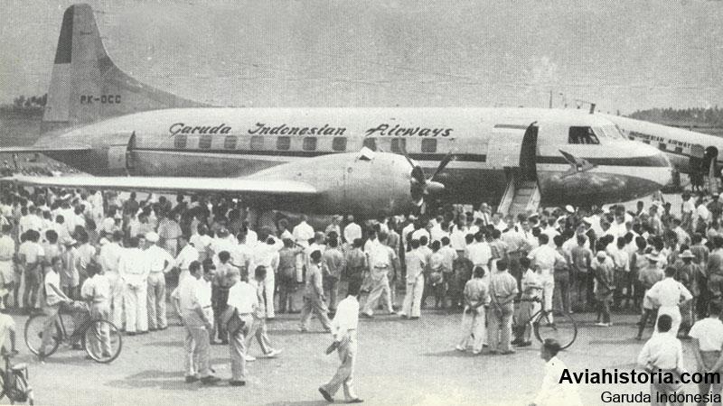 kedatangan-convair-cv-240-di-kemayoran-4