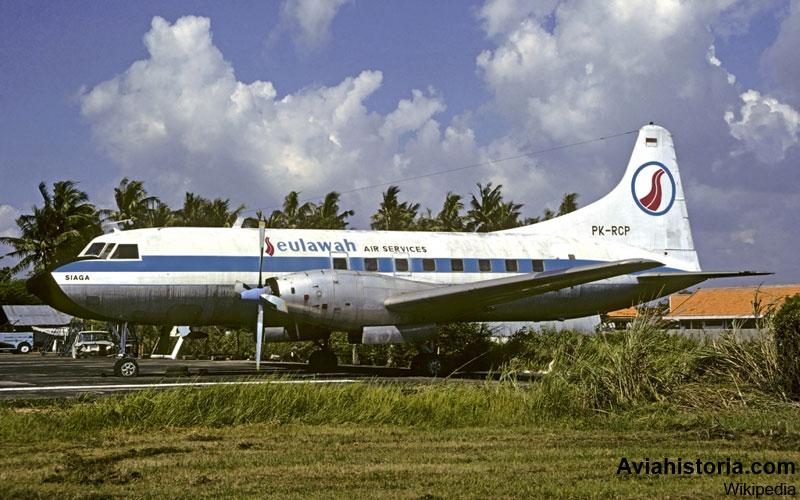 kedatangan-convair-cv-240-di-kemayoran-5